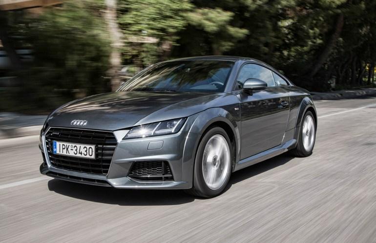 Με κινητήρες diesel εφοδιάζονται πλέον και σπορ αυτοκίνητα όπως είναι το Audi TT...