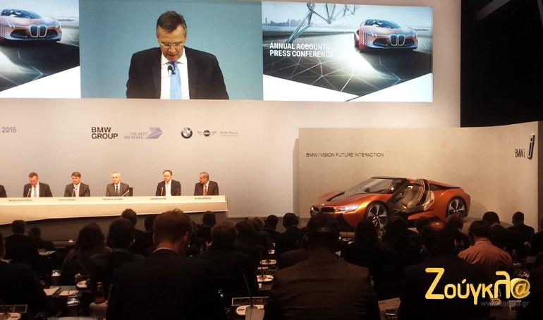 Ολα τα μελη του ΔΣ του BMW Group..
