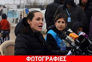 Angelina Jolie: Ταξίδεψε στον Λίβανο και βρέθηκε στο πλευρό των προσφύγων